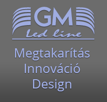 GM Led line logó